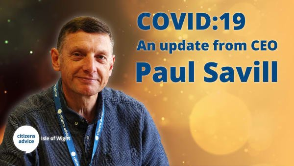 Covid-19: An Update From Our CEO