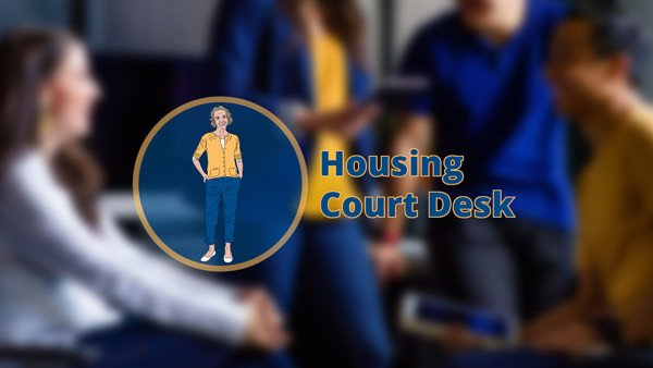 Housing Court Desk